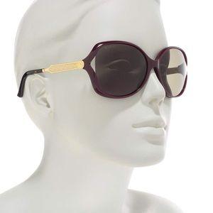 Authentic Gucci  60mm Round Sunglasses